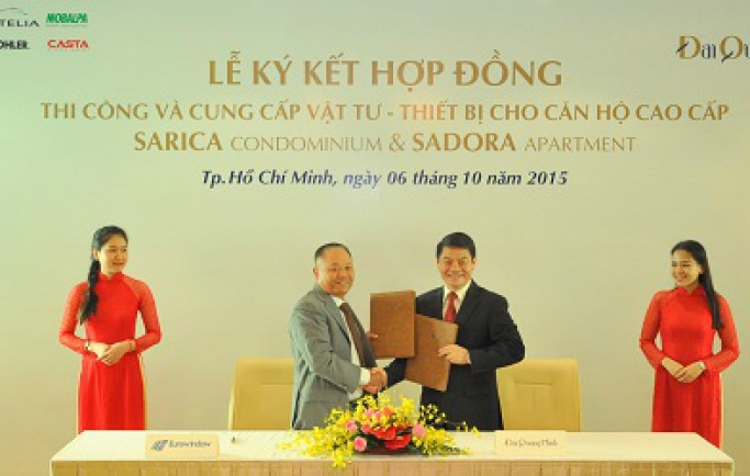 Đại Quang Minh chọn nhà thầu cho khu đô thị Sala