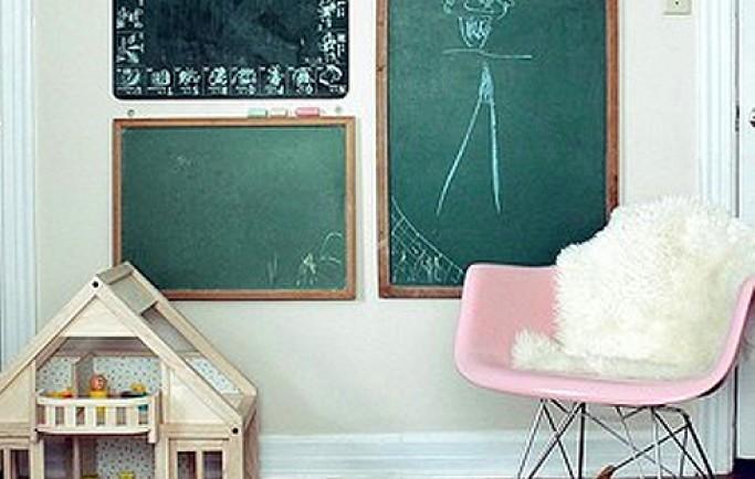 Áp dụng trang trí tường phòng cho phòng bé