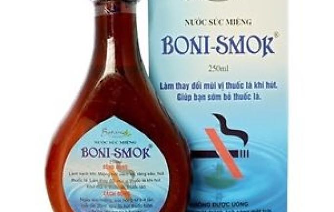 Boni Smok – từ bỏ thuốc lá trong 1 liệu trình