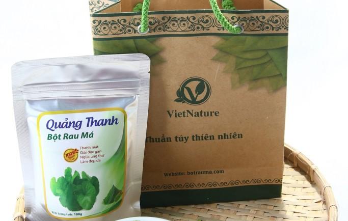 Đại lý nơi bán bột rau má Quảng Thanh uy tín ở thành phố HCM