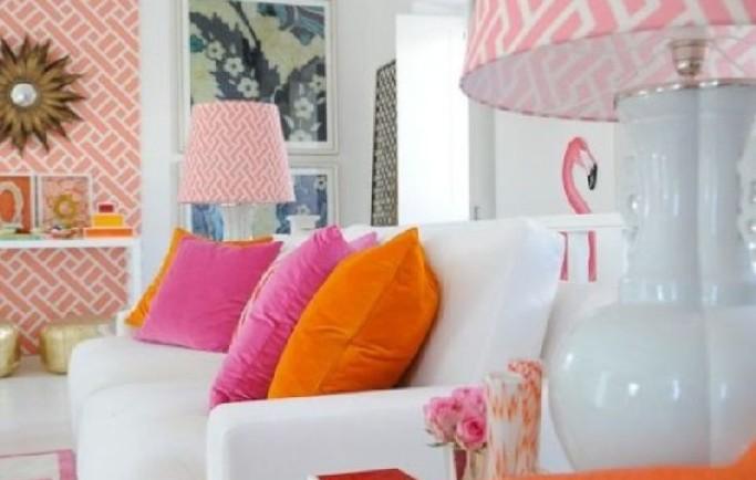 Cảm hứng từ những căn phòng khách ấm cúng: Mùa hạ đa sắc