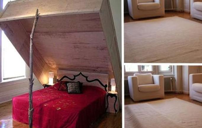 Chiêm ngưỡng một số mẫu giường vô cùng khác lạ cho phòng ngủ