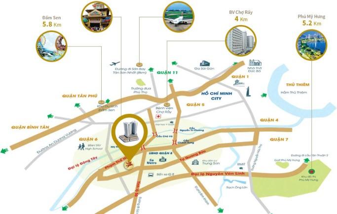 Chung cư KingDom 101 Thành Thái quận 10