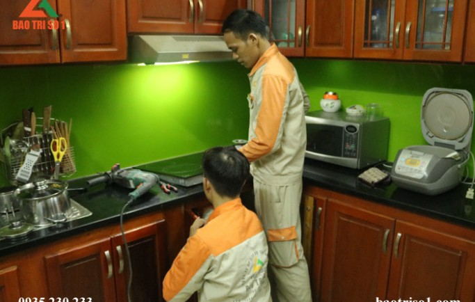 Cung cấp dịch vụ sửa chữa bếp từ tại nhà đảm bảo lỗi hết dứt điểm