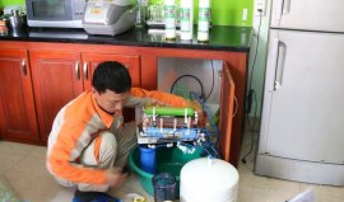 Cung cấp dịch vụ sửa máy lọc nước tại nhà cam kết uy tín nhanh