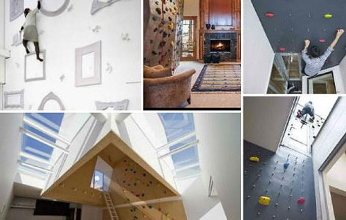Đánh giá mẫu tường nhà với thiết kế leo núi rất thu hút và sáng tạo