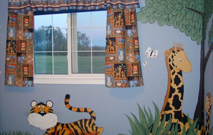 Điểm một số tranh dễ thương cho những không gian phòng của trẻ (P1)