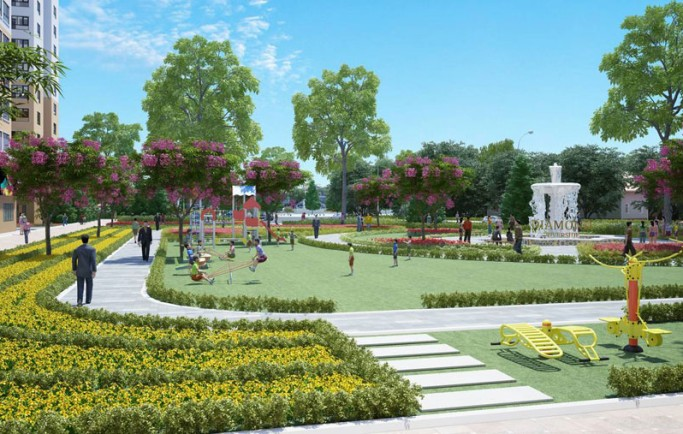 Dự án Kingdom Hoa Lâm - Full tiện ích