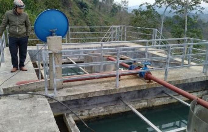 Dự án nước sạch 22 tỷ vừa xong đã bục vỡ ống cấp nước