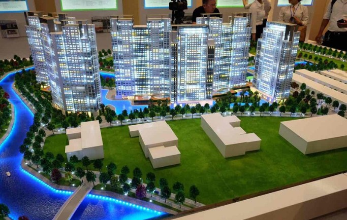 Gem Riverside Dat Xanh bố trí 3100 căn hộ chung cư cao cấp