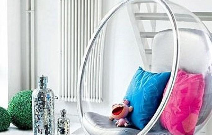 Giới thiệu những mẫu thiết kế nội thất trong suốt và có nhiều sắc màu (P1)