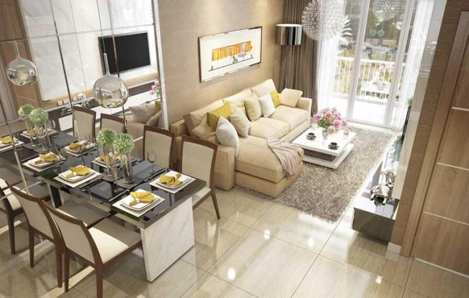 Khám phá nội thất căn hộ mẫu căn hộ gem Riverside Đất Xanh Q.2