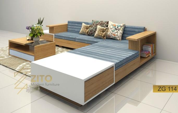 Làm sao chọn được ghế sofa gỗ tại Hà Nội cho không gian rộng rãi?