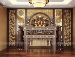 Mẫu bàn thờ đẹp nhất năm 2018 - nội thất đức dương chuyên thi công dự án bds