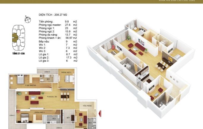 mua căn hộ tại tòa chung cư Discovery Complex 302  cầu giấy