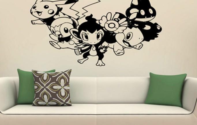 Những bức tường tranh dễ thương cho phòng ngủ trẻ em (P2)
