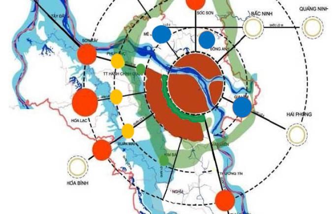 Những khu đô thị vệ tinh đc thủ đô tăng nhanh tăng cường đô thị mới