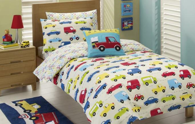 Những thủ thuật để lựa chọn phụ kiện giường ngủ dành tặng bé trai yêu của bạn