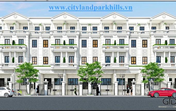 Quy mô dự án Cityland Park Hills Quận Gò Vấp