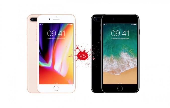 Sự nâng cấp của iPhone 8 Plus so với 7 Plus