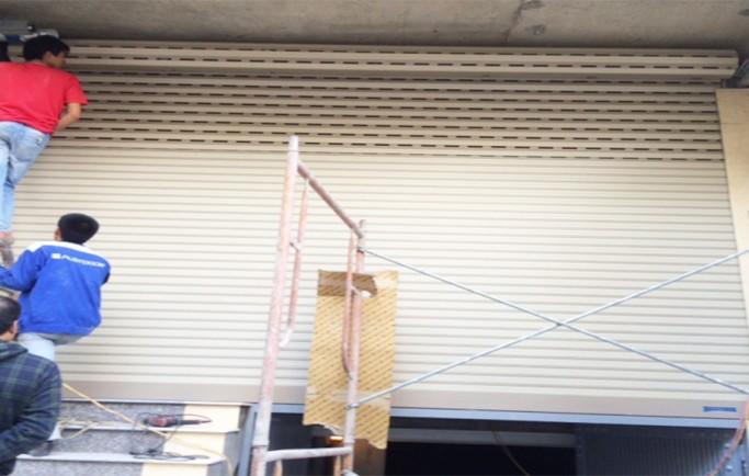 Sửa cửa cuốn tại Khu Vực Hoàng Mai 24h
