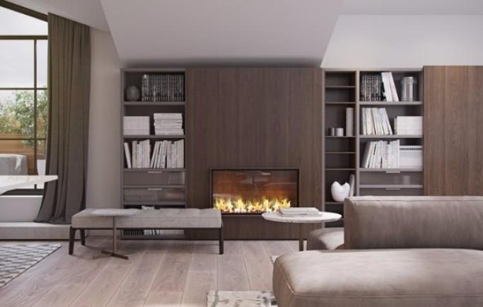 Thăm căn  hộ cao cấp tại Ý tỏa nắng bởi những thiết kế ánh sáng vô cùng hiện đại
