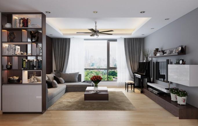 Thiết kế nội thất chung cư Golden Palace Mỹ Đình