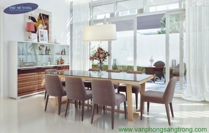 Thiết kế nội thất nhà cấp 4 340m2 phòng khách sang trọng