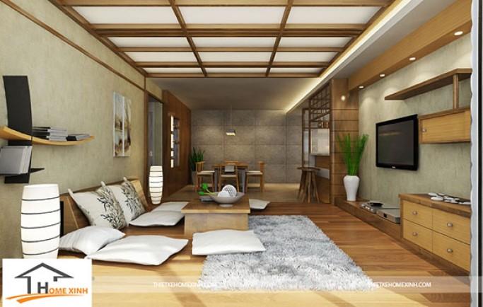 Thiết kế nội thất nhà phố sang trọng theo phong cách Á Đông