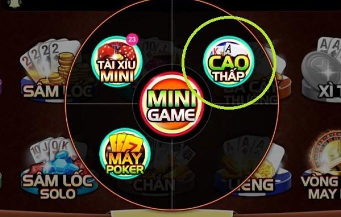 Tìm hiểu luật chơi mini game bài Cao Thấp đang được ưa chuộng