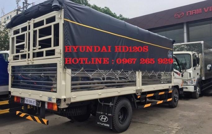 Xe Tải Đô Thành 8.500 kg Hyundai HD120S Thùng Bạt | Gía Tốt Bàn Giao Xe Ngay
