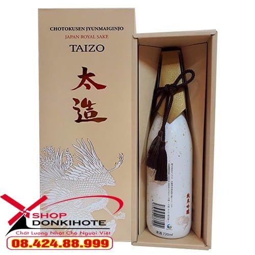 Rượu Taizo Japan Royal Sake 720ml cam kết hàng chính hãng nhé