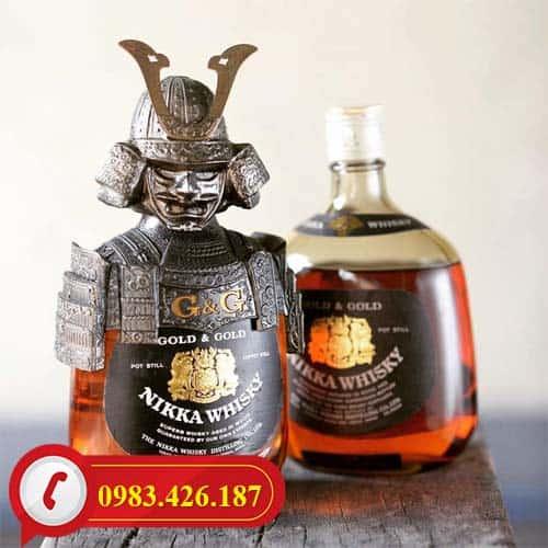 Rượu Whisky Nikka Samurai Nhật Bản toàn quốc
