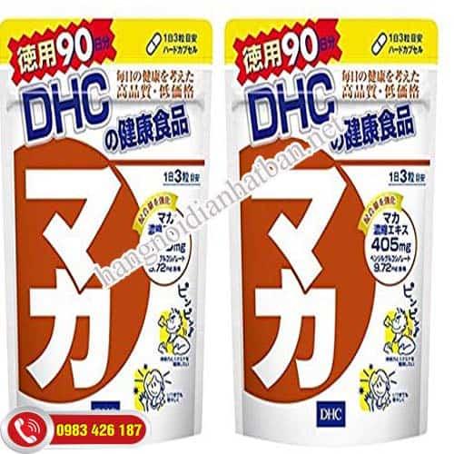 Tìm hiểu viên uống Maca DHC Nhật Bản hiệu quả