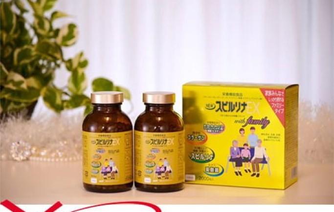 Công dụng nổi bật sản phẩm tảo Xoắn Vàng Spirulina EX Family