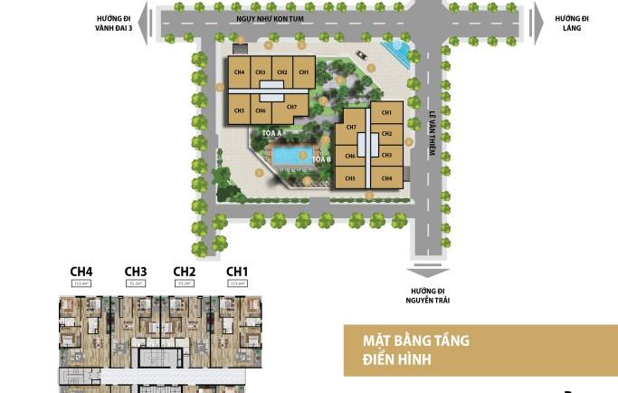 Dự án căn hộ Discovery Complex