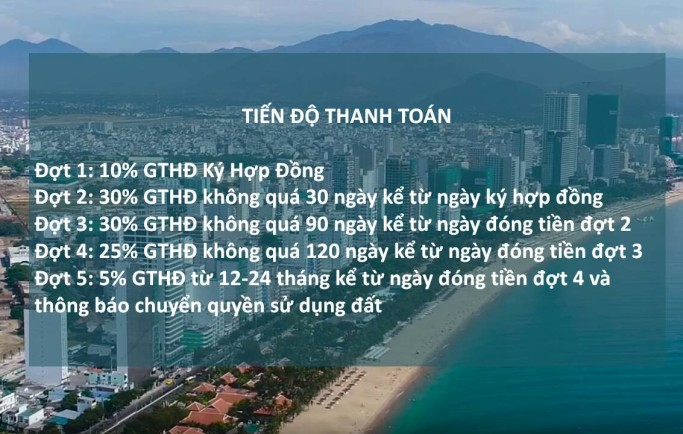 Dự Án Đất Nền Piania City Nha Trang tiện ích đẳng cấp nhiều diện tích thu hút chú ý