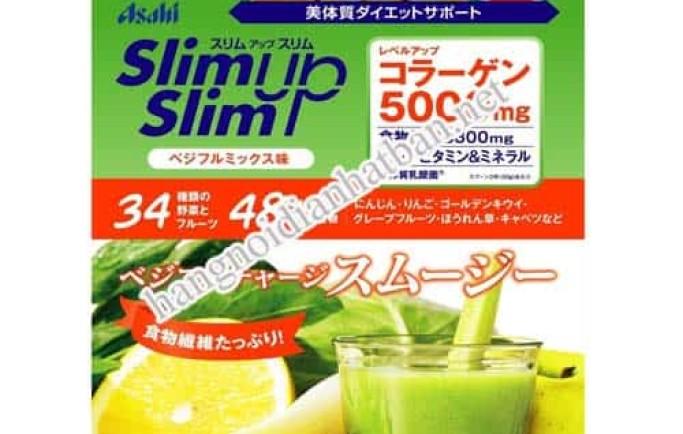 Giới thiệu sản phẩm làm giảm cân ASAHI Slim up của nhật bản uy tín