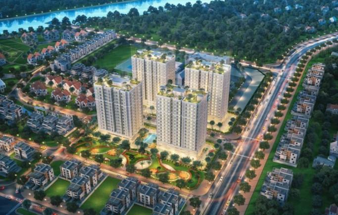 Khu căn hộ Orchid Park được phát triển bởi Cotec không gian thông thoáng đường rộng rãi phù hợp khách hàng.