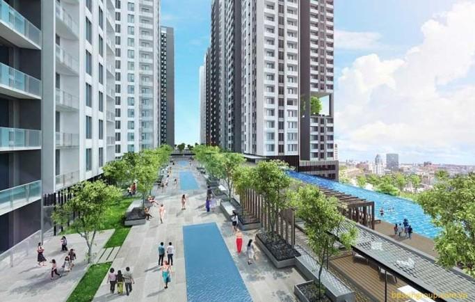 Mặt bằng quy hoạch đầu tư dự án căn hộ Gem Riverside Đất Xanh Q.2