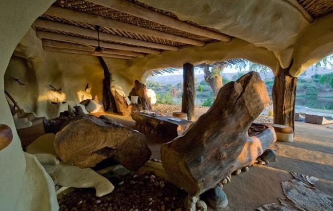 Ngôi biệt thự sông Chongwe vô cùng ấn tượng