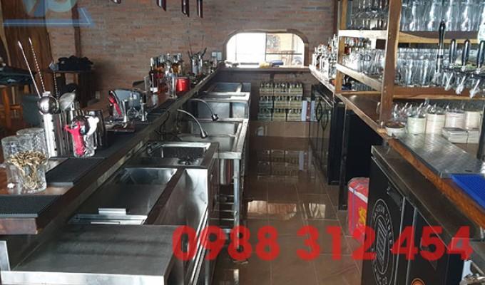 Quầy bar inox bền đẹp giá tốt mua ở đâu?