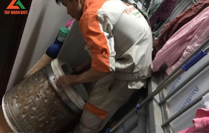 Tập Đoàn Việt chuyên sửa chữa máy giặt tại nhà lỗi hết triệt để