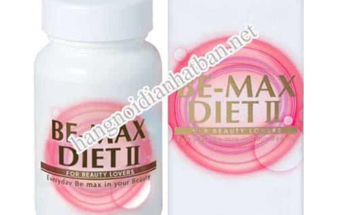 Thông tin về sản phẩm viên uống giảm cân Be-Max Diet II 90 viên